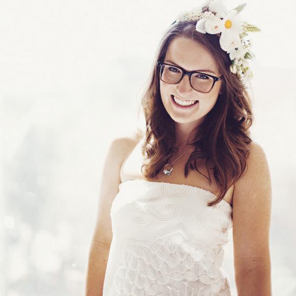 кэролл посетил невесты в очках фотографии они