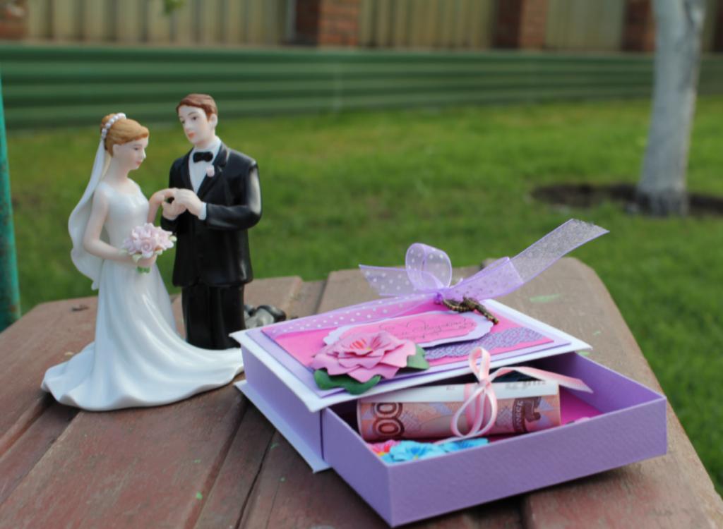 Самый оригинальный подарок на свадьбу