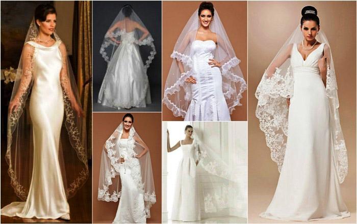 ТОП-11 видов свадебной фаты