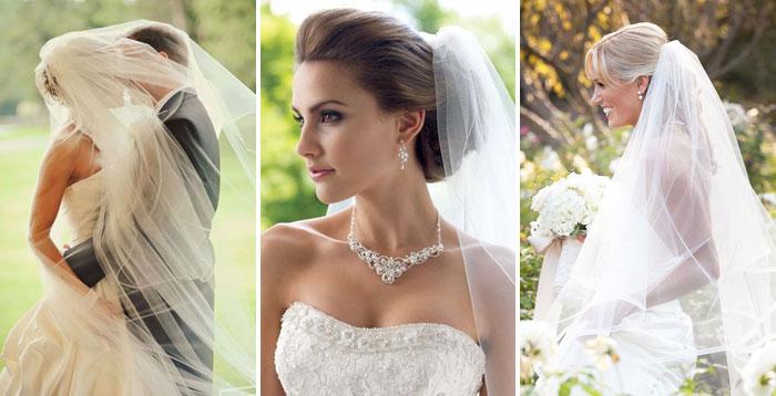 Прически на свадьбу для длинной фаты