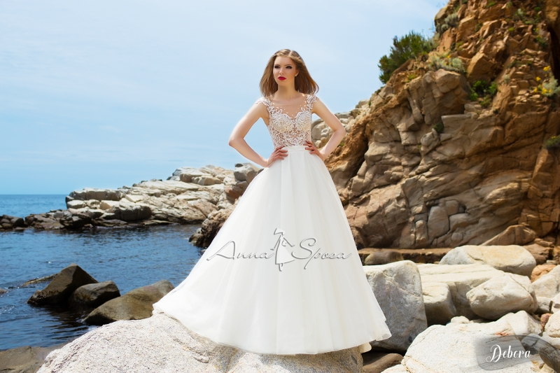Платье DEBORA из коллекции SEA DIAMOND 2017 by ANNA SPOSA