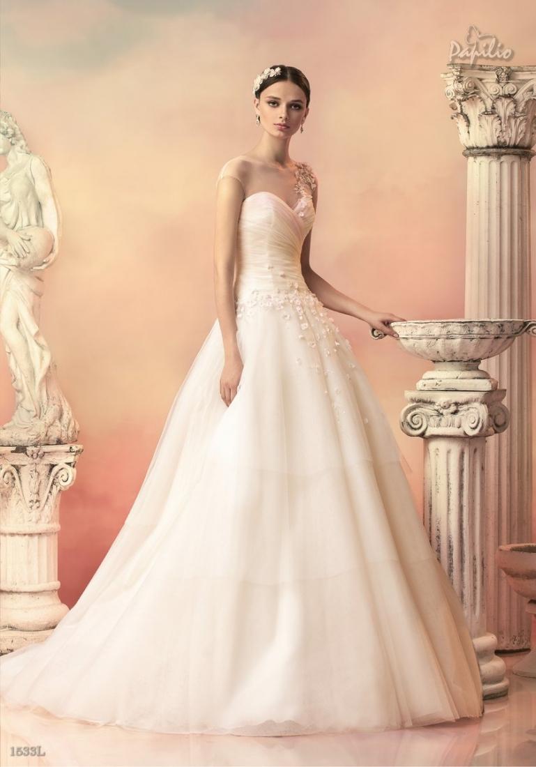 26674c9ce32 Свадебное платье Бальное (пышное) длинное пышное 2015 №1196 ...