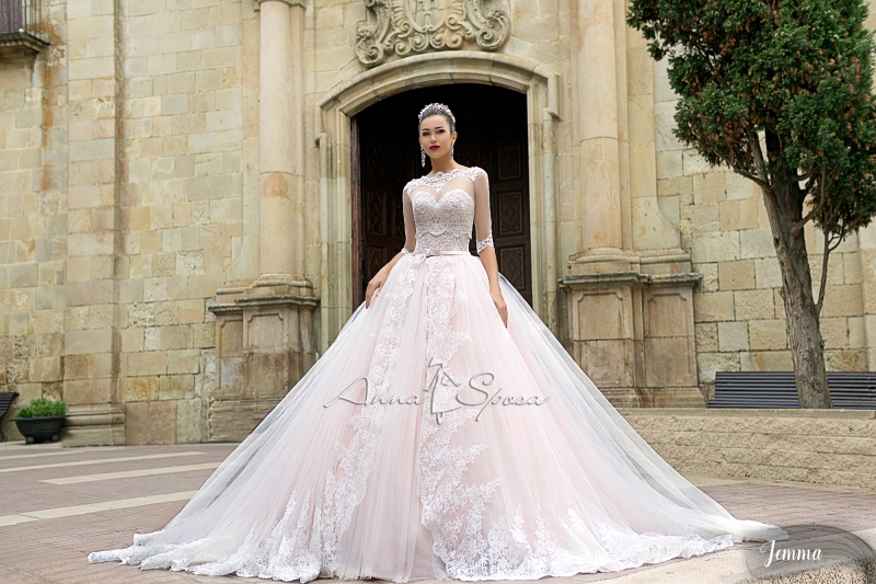 Платье JEMMA из коллекции SEA DIAMOND 2017 от ANNA SPOSA