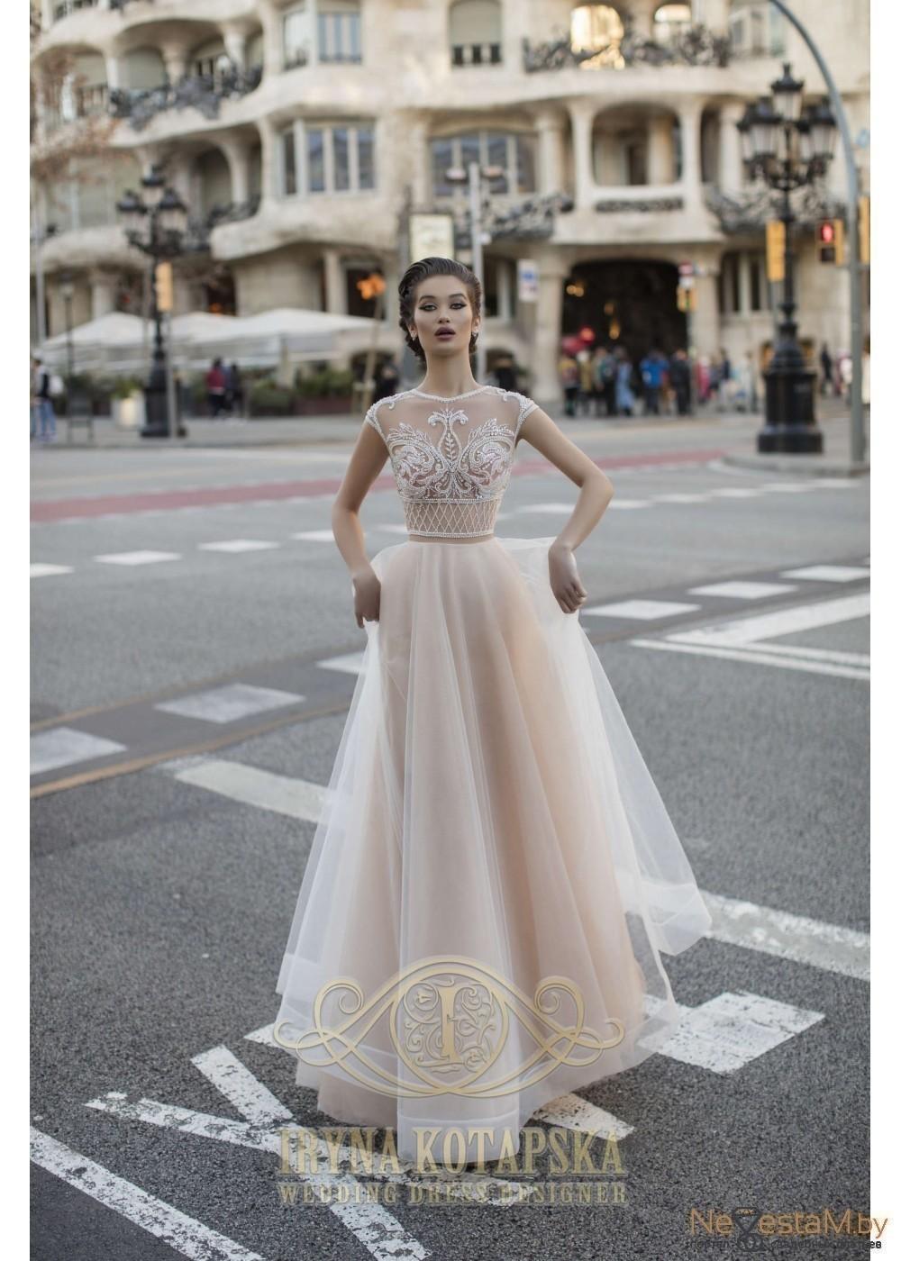 f112374811c Свадебное платье А-силуэт (принцесса) кружевное подходит беременным ...