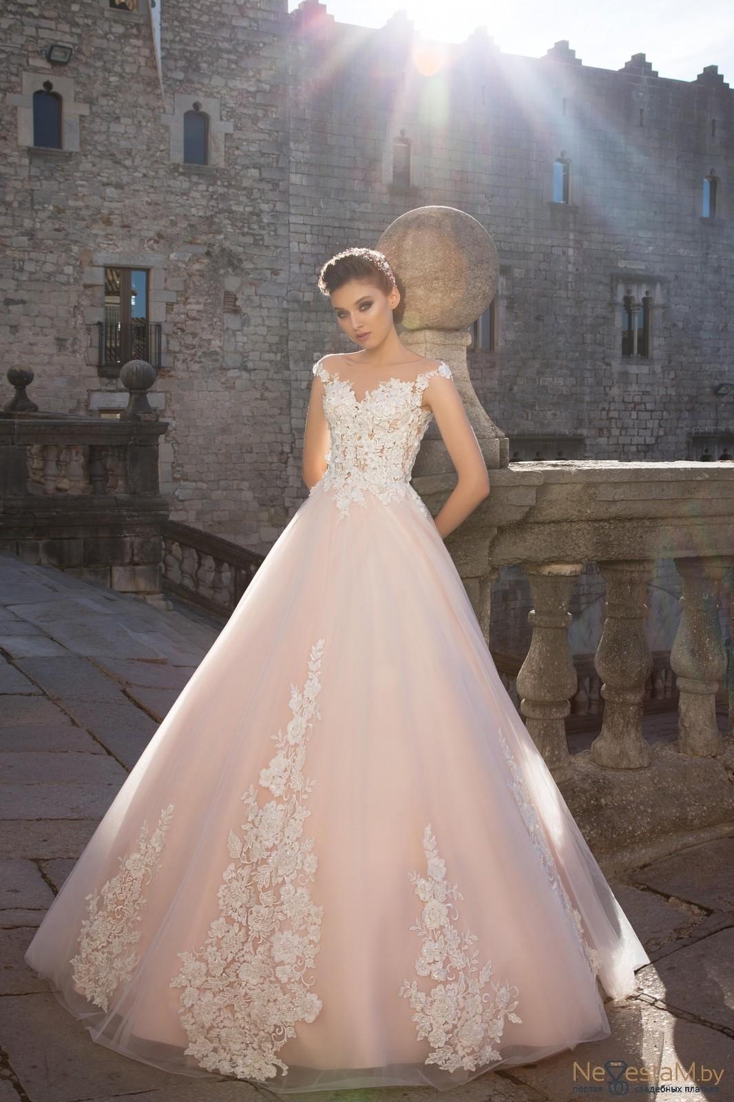 2886df751c07554 Свадебное платье А-силуэт (принцесса) кружевное без корсета длинное ...